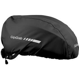 GripGrab Waterproof Helmüberzug schwarz
